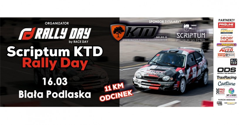 Scriptum KTD Rally Day I - PROLOG (16.03.2019)
