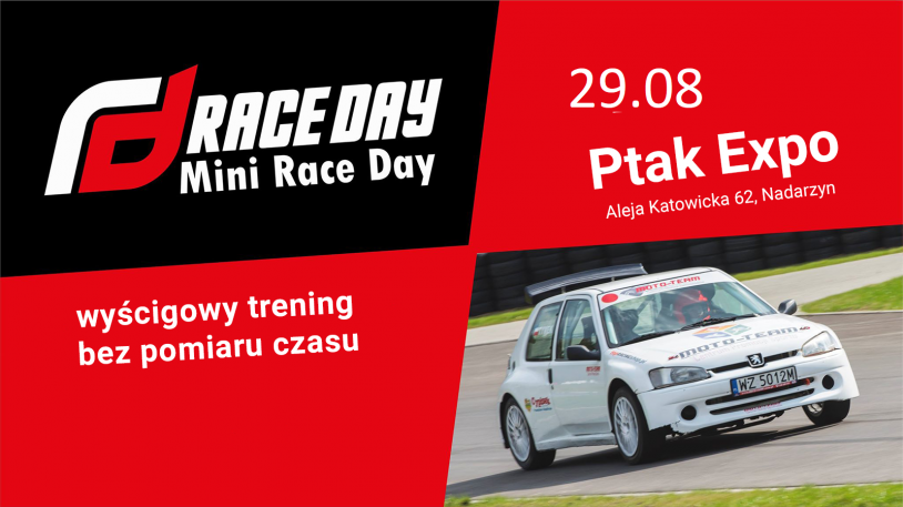 III Mini Race Day - Trening 15:00 - 18:00 (29.08.2020)