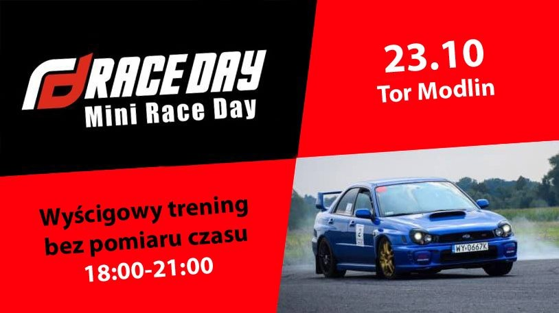 TRENING - Tor Modlin - Race Day Mini (23.10.2020)