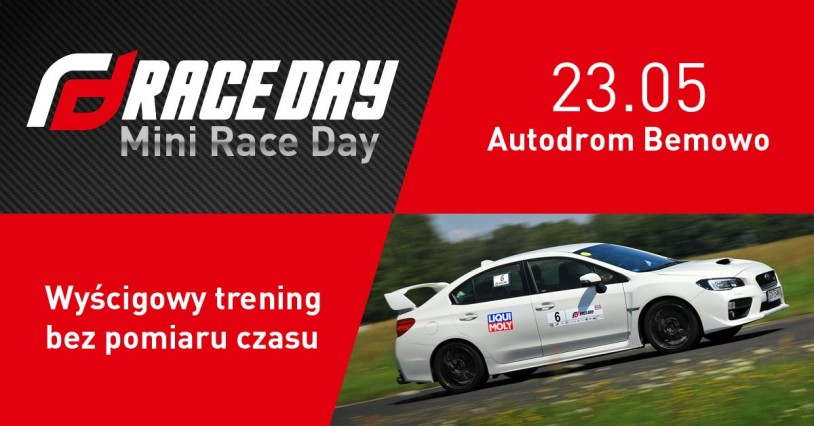 1 Mini Race Day - trening 2021 (23.05.2021)